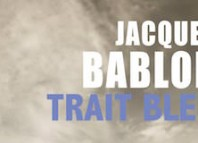trait bleu - bablon