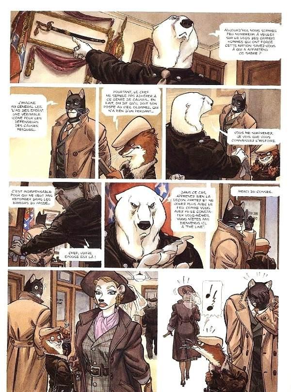 Blacksad - Tome 2 - Artic-Nation (pl1)