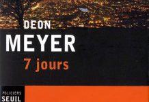 7 jours - deon meyer