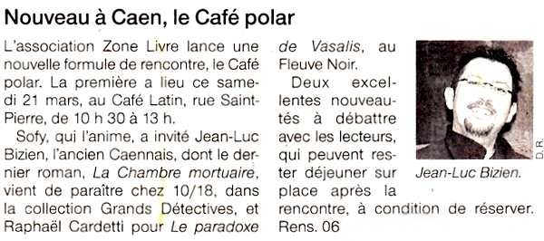 Zonelivre Café Polar mars 2009