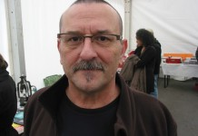 Pierre Hanot, chanteur, Ècrivain. Mai 2012.