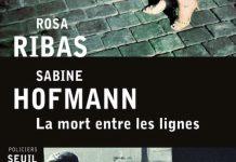la mort entre les lignes - ribas - hofmann