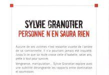 personne n en saura rien - Sylvie GRANOTIER
