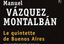 La quintette de Buenos Aires - Manuel VAZQUEZ MONTALBAN