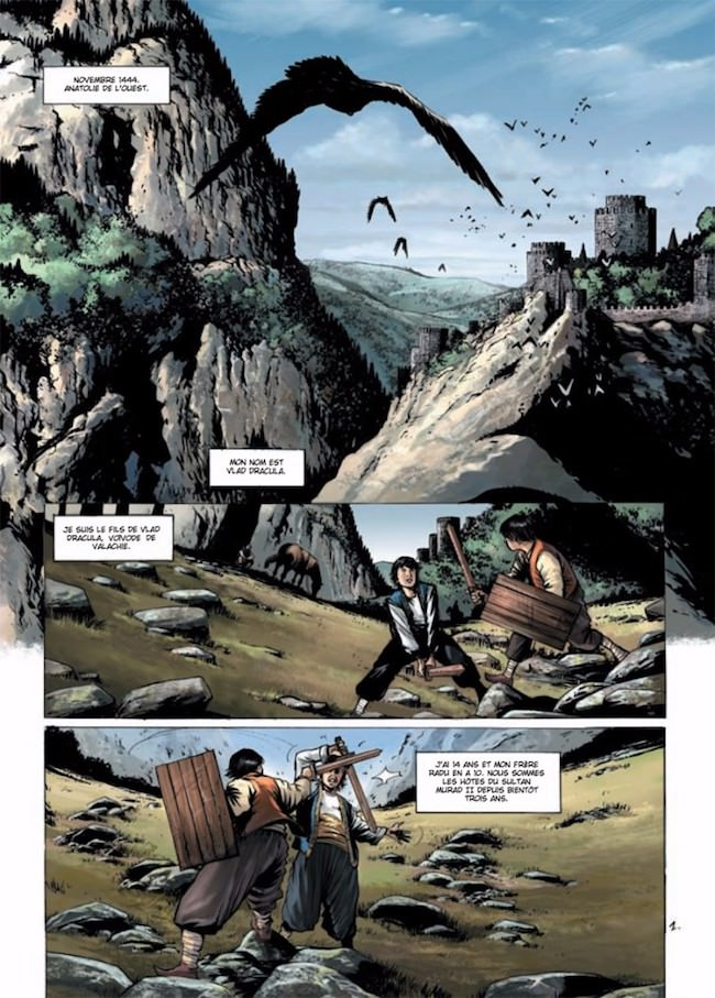 Eric CORBEYRAN et Serge FINO - Dracula - ordre des dragons (pl1)