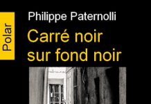 Carre noir sur fond noir - Philippe PATERNOLLI