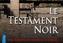 Jean-Luc AUBARBIER : Le testament noir