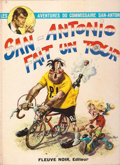 les aventures du commissaire San-Antonio - bd - San-antonio fait un tour