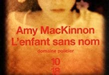 L enfant sans nom - Amy MacKINNON