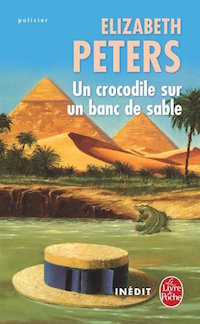 un-crocodile-sur-un-banc-de-sable-elizabeth peters