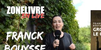 Zonelivre live - Franck Bouysse