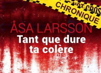 Åsa LARSSON : Série Rebecka Martinsson - 04 - Tant que dure ta colère