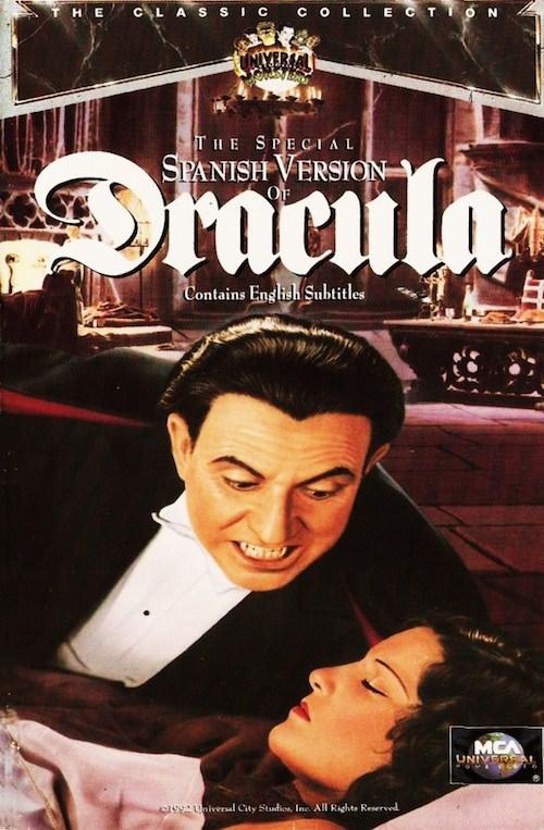 dracula 1931 version espagnol