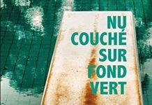 Jacques BABLON - Nu couche sur fond vert