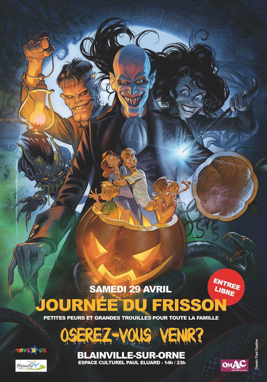 Journee du Frisson a Blainville sur Orne
