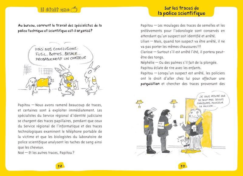 Patrick ROUGER et Sophie JANSEM - Sur les traces de la police scientifique (pl1)