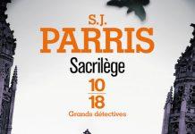 S.J. PARRIS-Giordano Bruno - Tome 3-Sacrilege