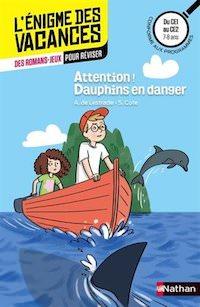 enigme des Vacances - Attention Dauphins en danger