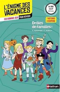 enigme des Vacances - Droles de familles
