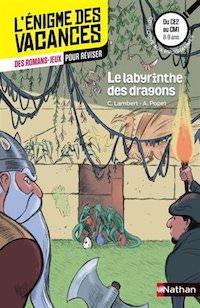 enigme des Vacances - Le labyrinthe des dragons