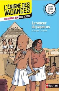 enigme des Vacances - Le voleur de papyrus