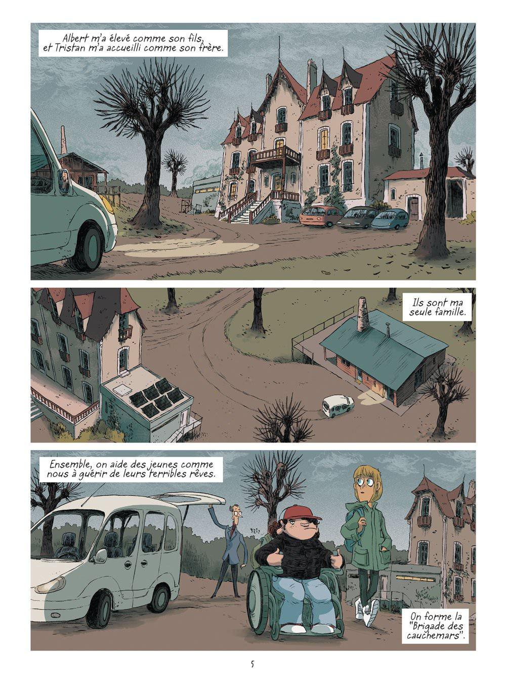 Franck THILLIEZ-YOMGUI - La brigade des cauchemars – 1-03