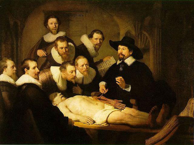 Lecon d anatomie du docteur Tulp - Rembradt. Magnus Manske