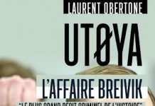 Laurent OBERTONE - Utoya - affaire Breivik