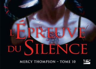 Patricia BRIGGS - Mercy Thompson – 10 - epreuve du silence