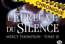 Patricia BRIGGS - Mercy Thompson - epreuve du silence - 10