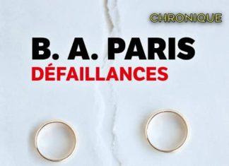 B. A. PARIS - Defaillances-
