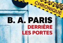 B. A. PARIS : Derrière les portes