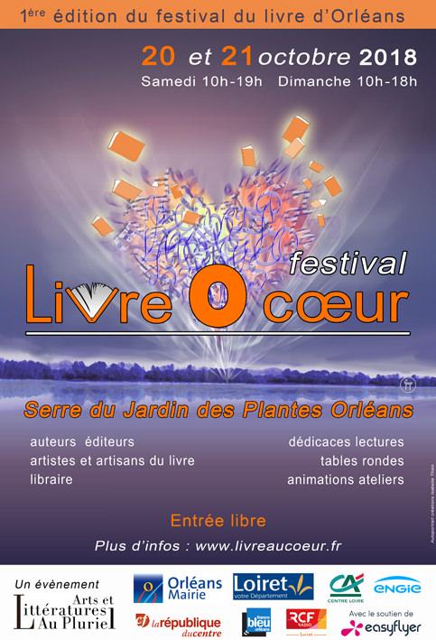 Festival Livre O coeur d'Orléans