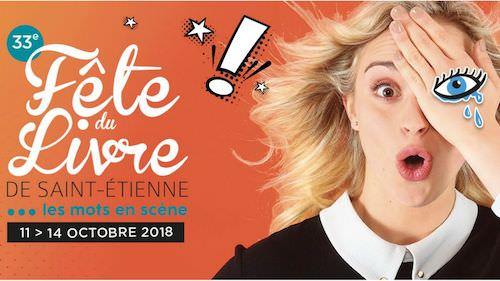 Fete du livre 2018 Saint-etienne