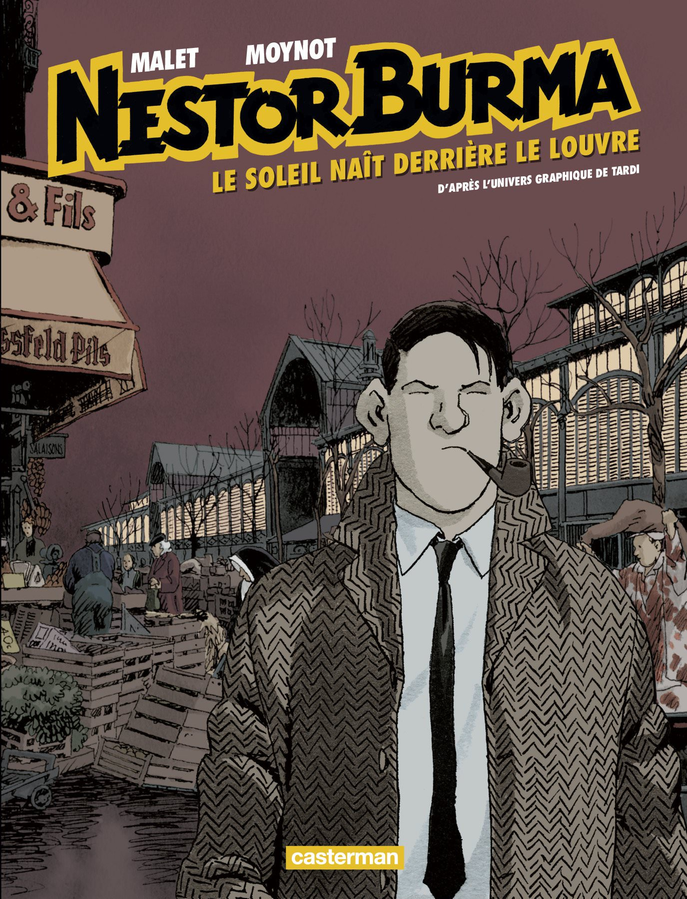 Nestor BURMA - 06 - Le soleil nait derriere le Louvre