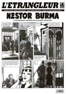 Nestor BURMA - Etrangleur - L'envahissant cadavre de la plaine Monceau