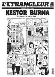 Nestor BURMA - Etranleur - Boulevard Ossements