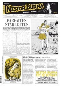 Nestor BURMA - journal - Corrida aux Champs-Elysees - 1