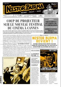 Nestor BURMA - journal - L'homme au sang bleu-1