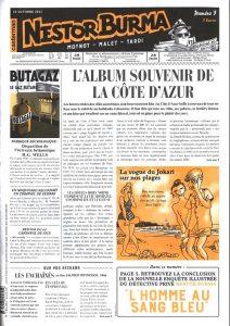 Nestor BURMA - journal - L'homme au sang bleu-3
