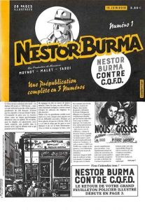 Nestor BURMA - journal - Nestor Burma contre C.Q.F.D.-1