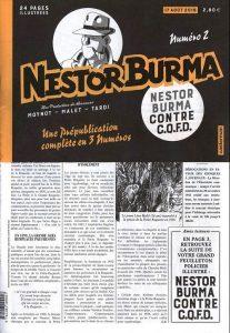 Nestor BURMA - journal - Nestor Burma contre C.Q.F.D.-2