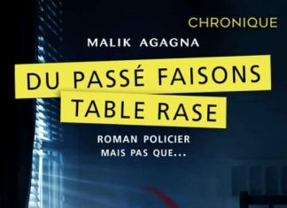 Malik AGAGNA - Du passe faisons table rase