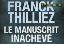 Franck THILLIEZ - manuscrit inacheve