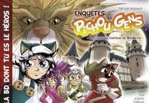 Michael BETTINELLI - Les enquetes du Pichou Gens - Les lions du Chateau de Bonneval -