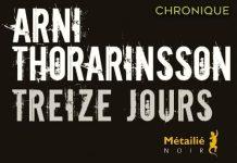 Arni THORARINSSON : Treize jours