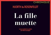 HJORTH et ROSENFELDT - Sebastian Bergman – 04 – fille muette