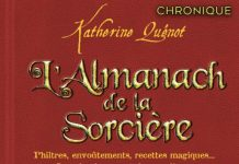 Katherine QUÉNOT : l'almanach de la sorcière