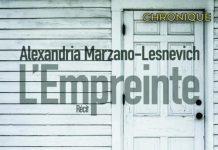Alexandria MARZANO-LESNEVICH - empreinte