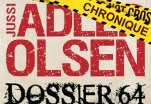 Jussi ADLER-OLSEN - Les enquetes du departement V - Dossier 64